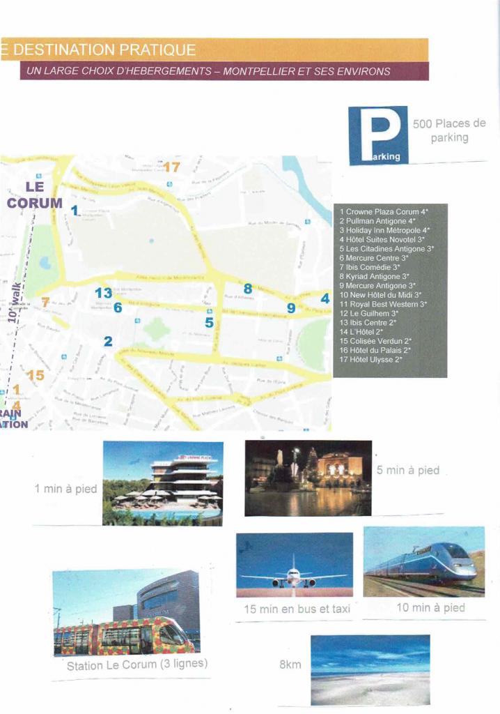 Info Le Corum Montpellier